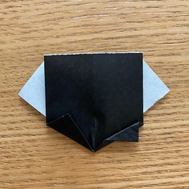 きめつのやいばの折り紙『かすがいがらす』折り方作り方 (26)