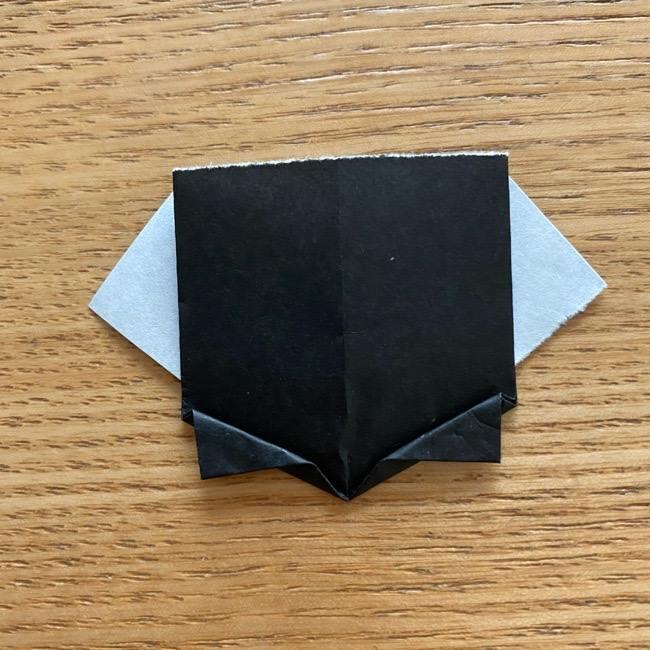 きめつのやいばの折り紙『かすがいがらす』折り方作り方 (27)