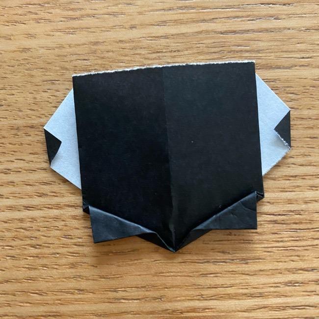 きめつのやいばの折り紙『かすがいがらす』折り方作り方 (28)