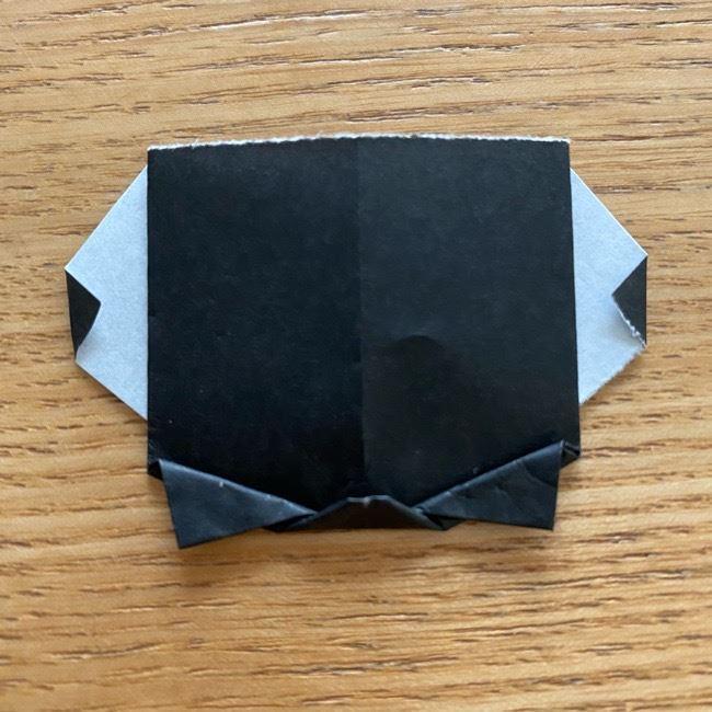きめつのやいばの折り紙『かすがいがらす』折り方作り方 (29)