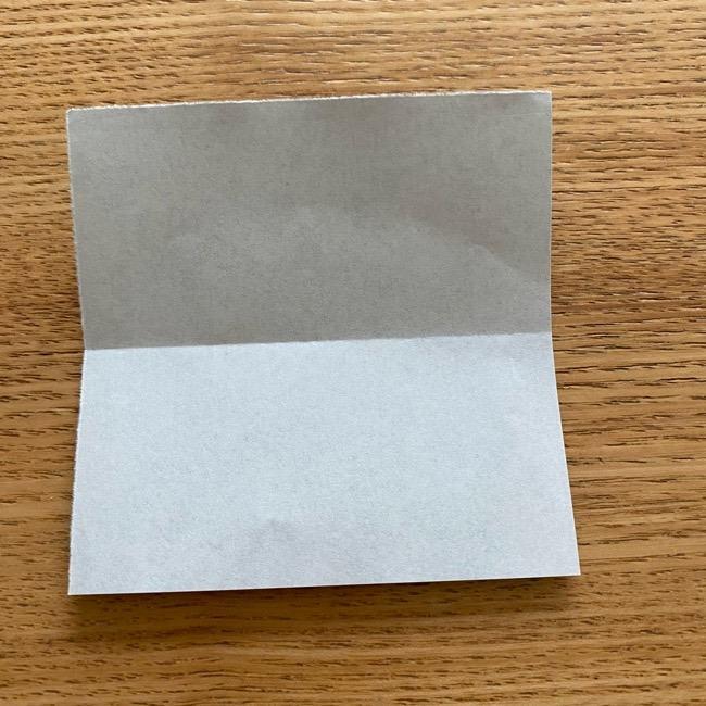 きめつのやいばの折り紙『かすがいがらす』折り方作り方 (3)
