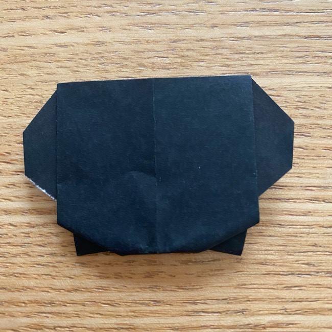 きめつのやいばの折り紙『かすがいがらす』折り方作り方 (30)