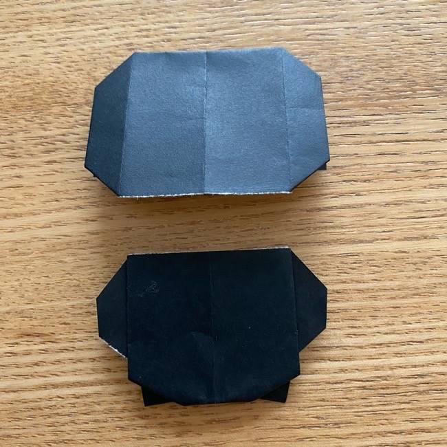 きめつのやいばの折り紙『かすがいがらす』折り方作り方 (31)