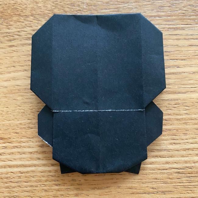 きめつのやいばの折り紙『かすがいがらす』折り方作り方 (32)