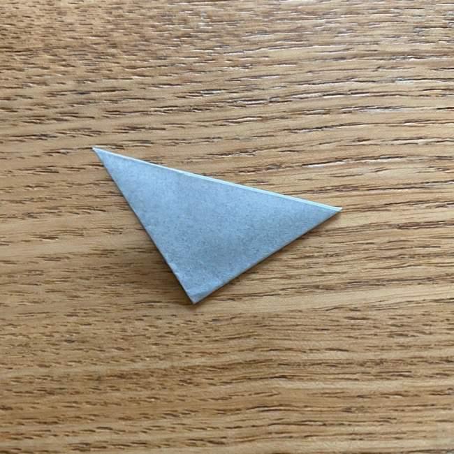 きめつのやいばの折り紙『かすがいがらす』折り方作り方 (35)