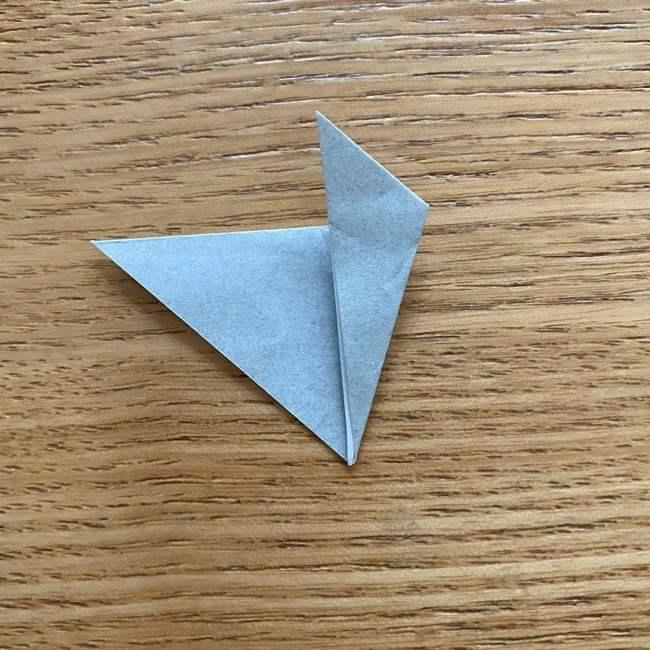 きめつのやいばの折り紙『かすがいがらす』折り方作り方 (37)