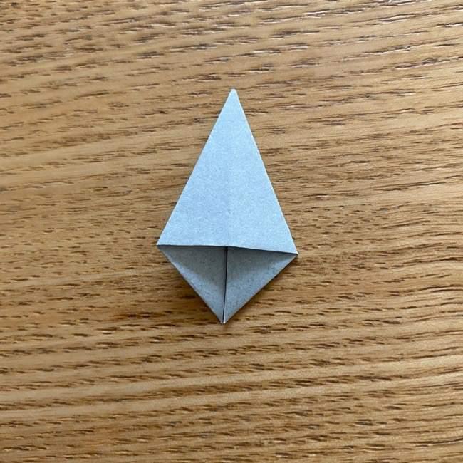 きめつのやいばの折り紙『かすがいがらす』折り方作り方 (39)