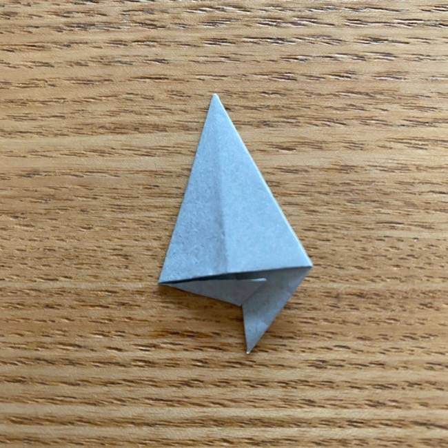 きめつのやいばの折り紙『かすがいがらす』折り方作り方 (40)