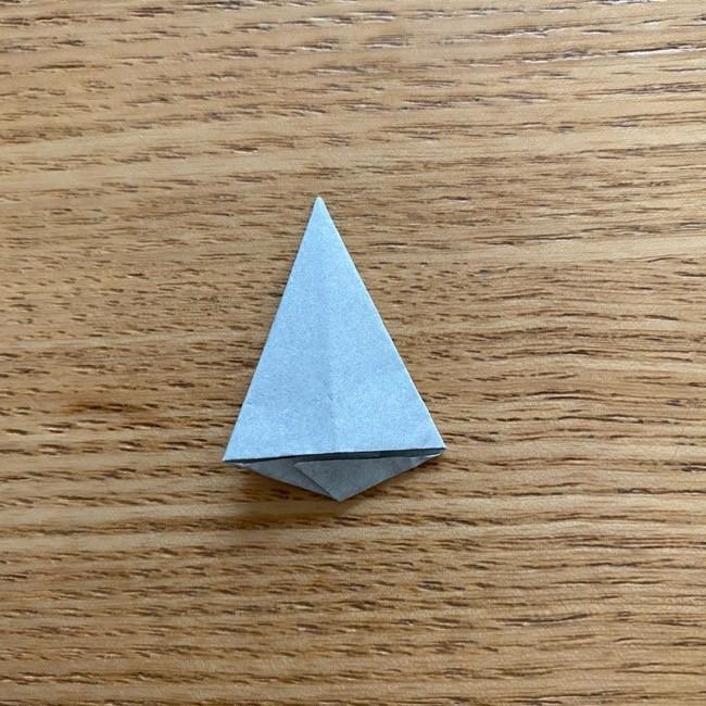 きめつのやいばの折り紙『かすがいがらす』折り方作り方 (41)