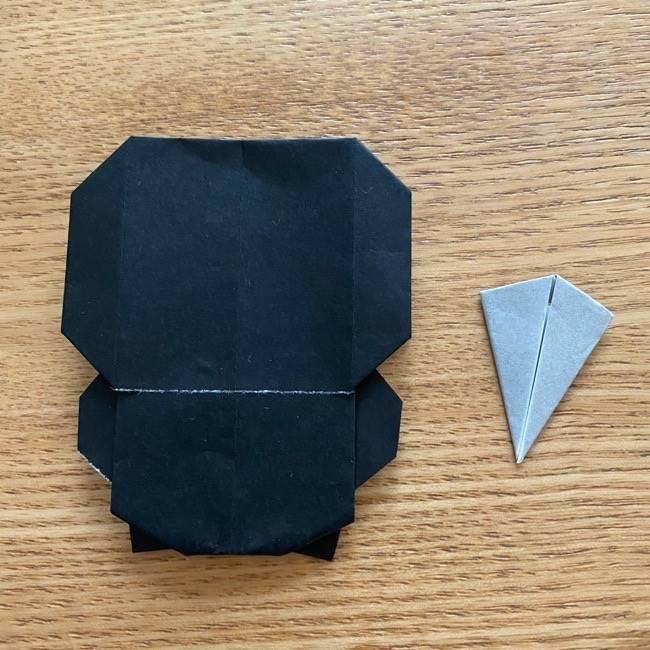 きめつのやいばの折り紙『かすがいがらす』折り方作り方 (43)