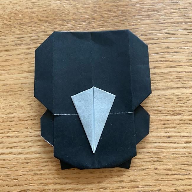 きめつのやいばの折り紙『かすがいがらす』折り方作り方 (44)