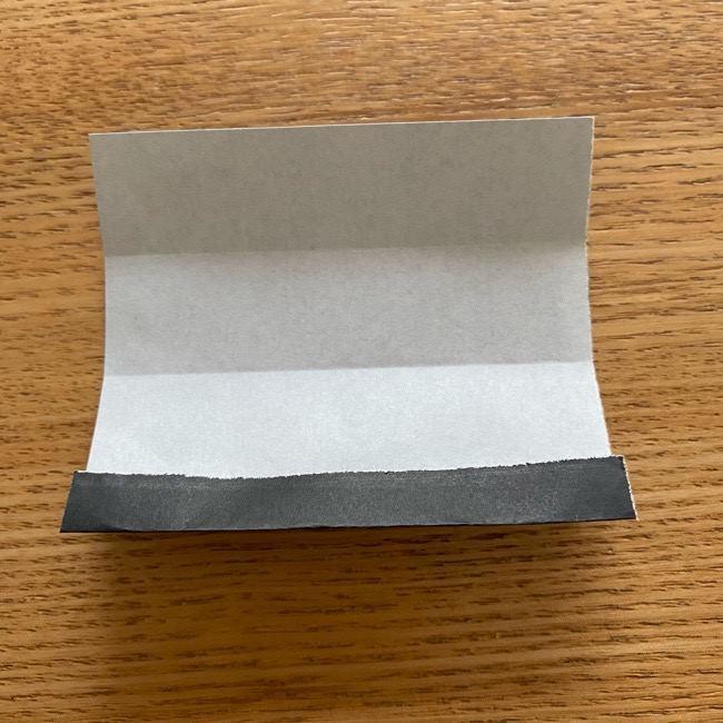 きめつのやいばの折り紙『かすがいがらす』折り方作り方 (7)