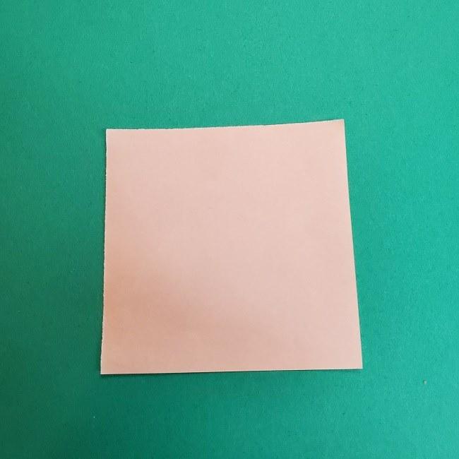きめつのやいばの折り紙 あおい*折り方作り方 (1)