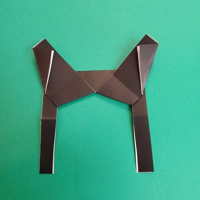 きめつのやいばの折り紙 あおい*折り方作り方 (22)