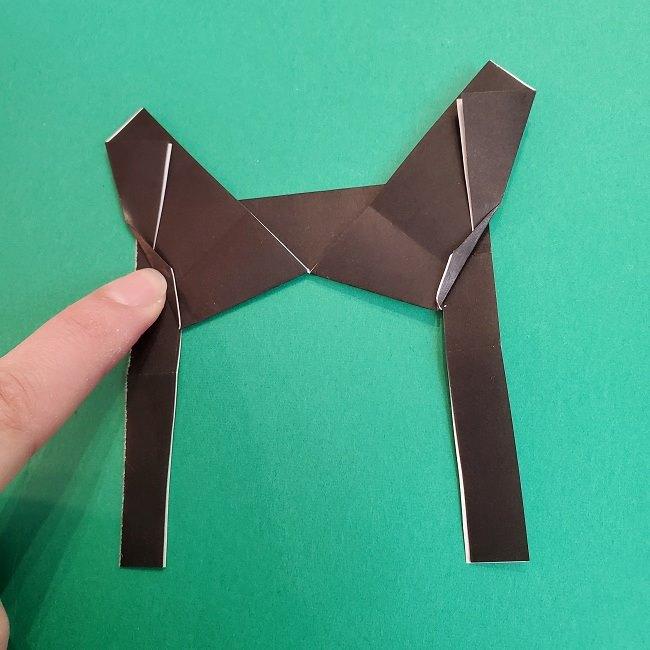 きめつのやいばの折り紙 あおい*折り方作り方 (23)
