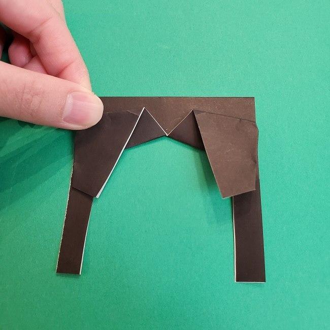 きめつのやいばの折り紙 あおい*折り方作り方 (24)