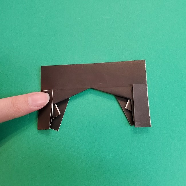 きめつのやいばの折り紙 あおい*折り方作り方 (25)