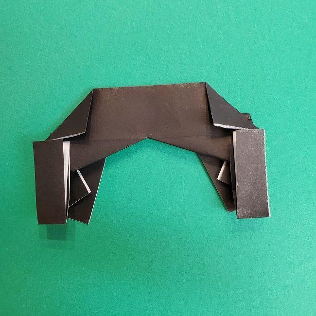きめつのやいばの折り紙 あおい*折り方作り方 (26)