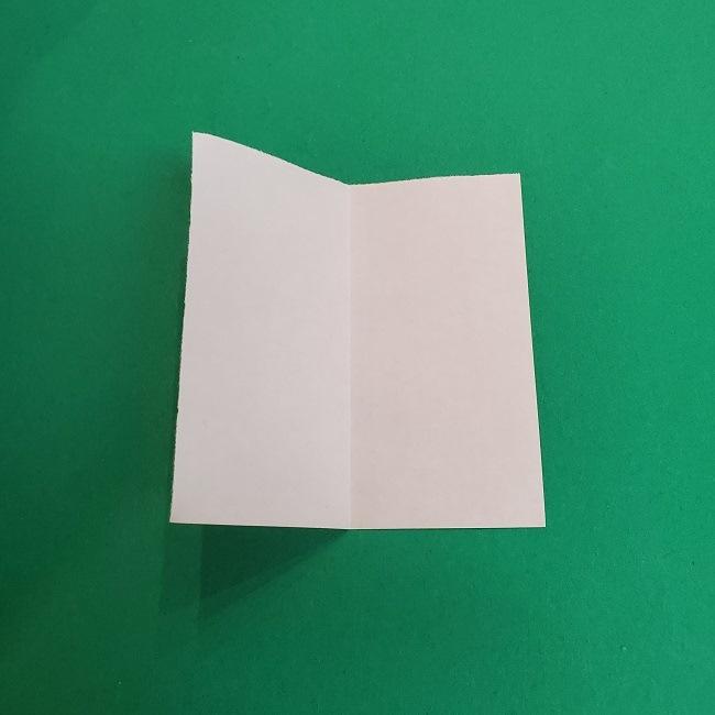 きめつのやいばの折り紙 あおい*折り方作り方 (3)