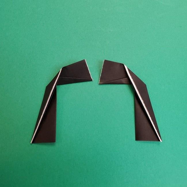 きめつのやいばの折り紙 あおい*折り方作り方 (35)