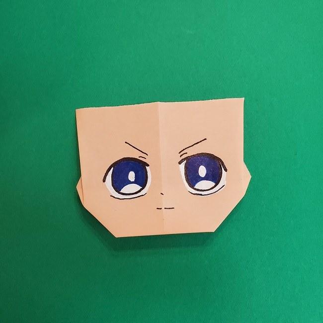 きめつのやいばの折り紙 あおい*折り方作り方 (36)