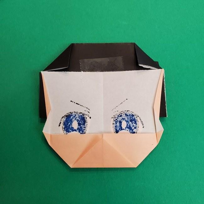 きめつのやいばの折り紙 あおい*折り方作り方 (37)