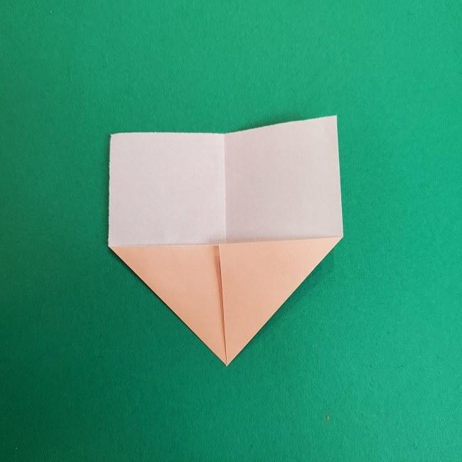 きめつのやいばの折り紙 あおい*折り方作り方 (4)