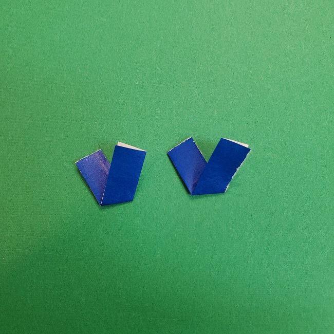きめつのやいばの折り紙 あおい*折り方作り方 (42)