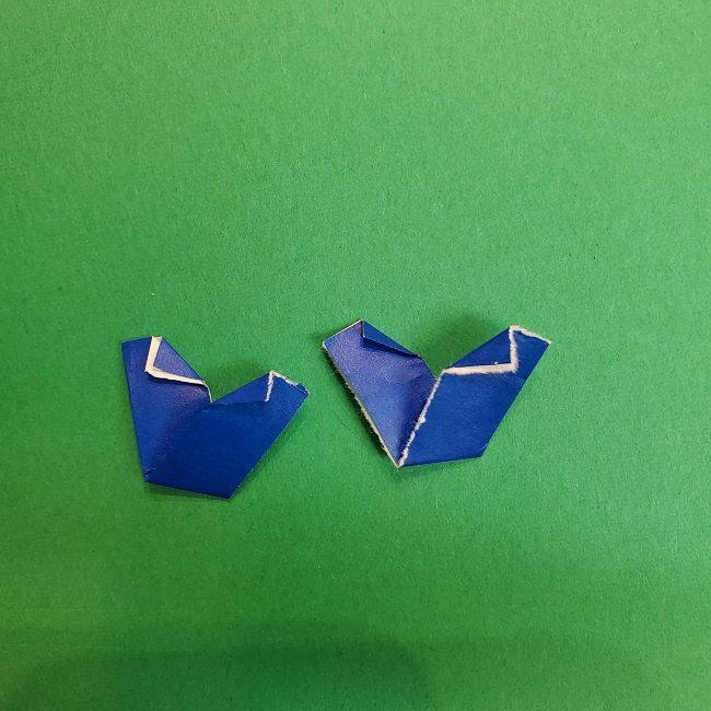 きめつのやいばの折り紙 あおい*折り方作り方 (43)