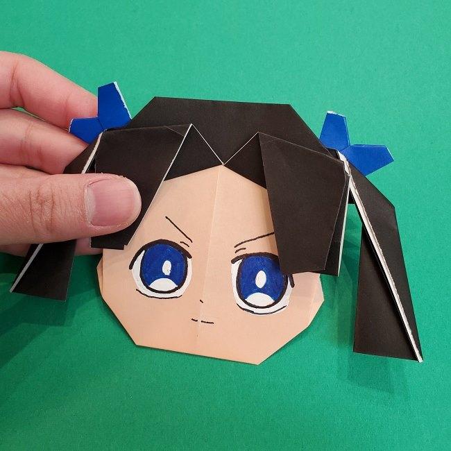 きめつのやいばの折り紙 あおい*折り方作り方 (44)