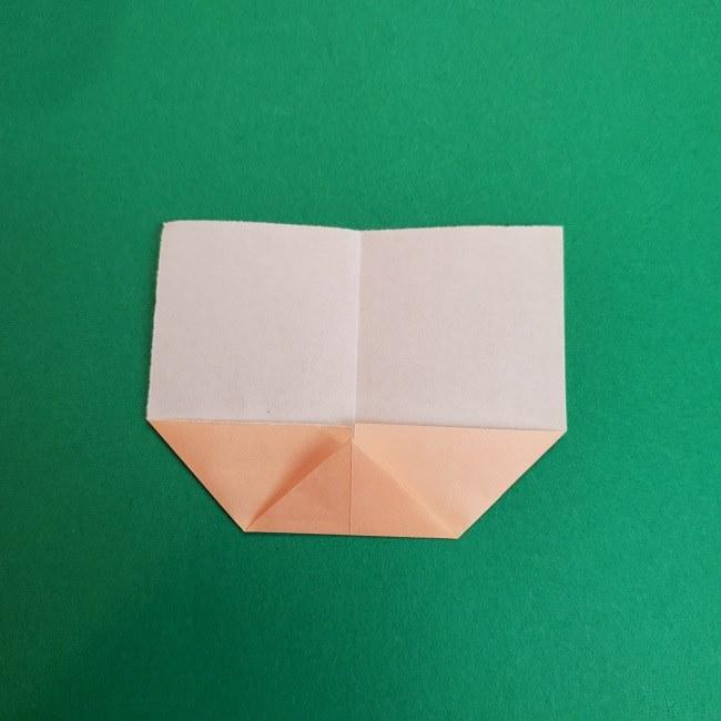 きめつのやいばの折り紙 あおい*折り方作り方 (5)
