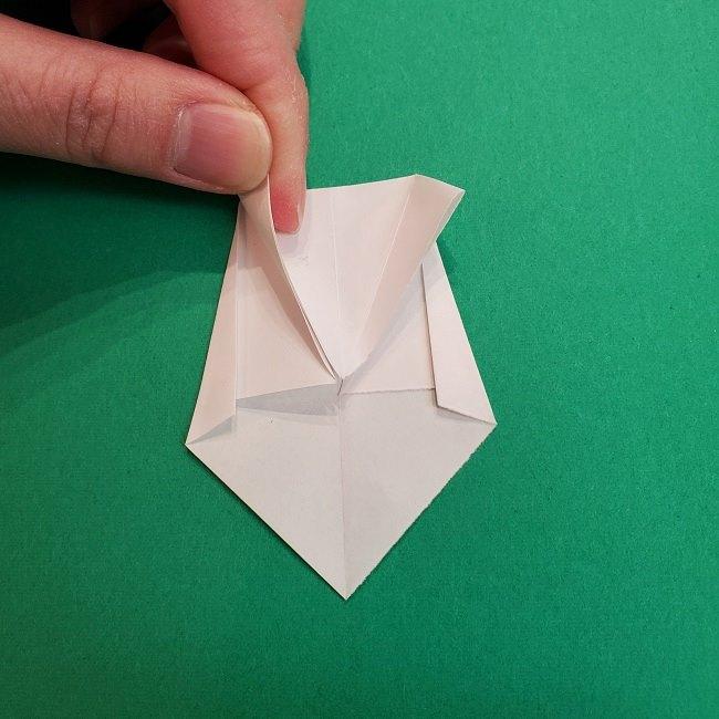 きめつのやいばの折り紙 あおい*折り方作り方 (54)