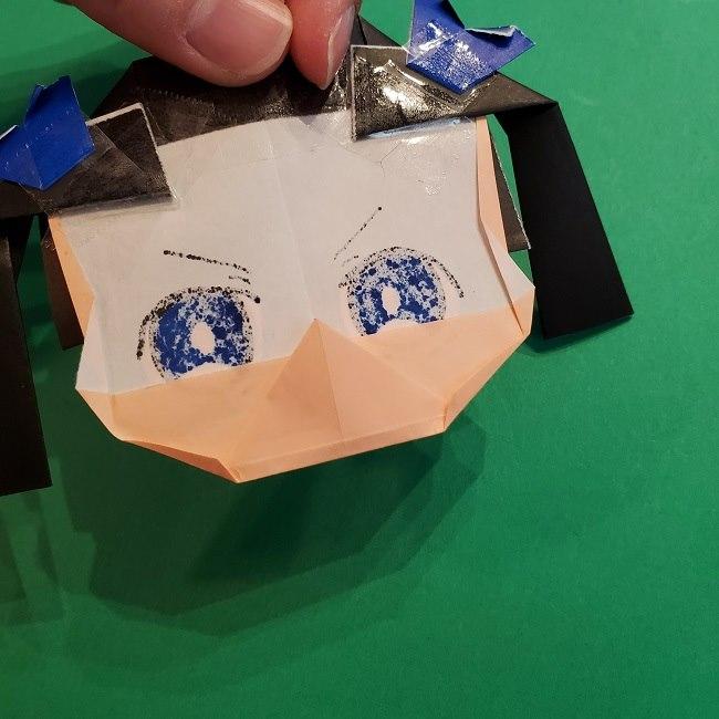 きめつのやいばの折り紙 あおい*折り方作り方 (56)