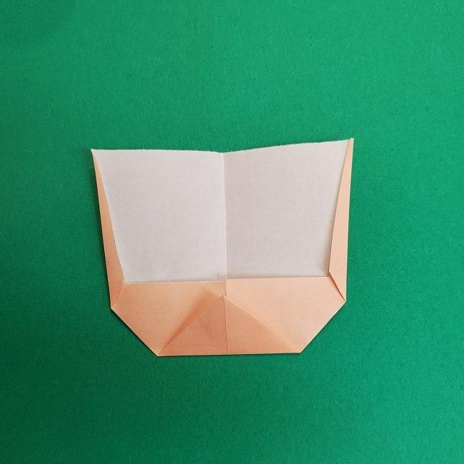 きめつのやいばの折り紙 あおい*折り方作り方 (6)