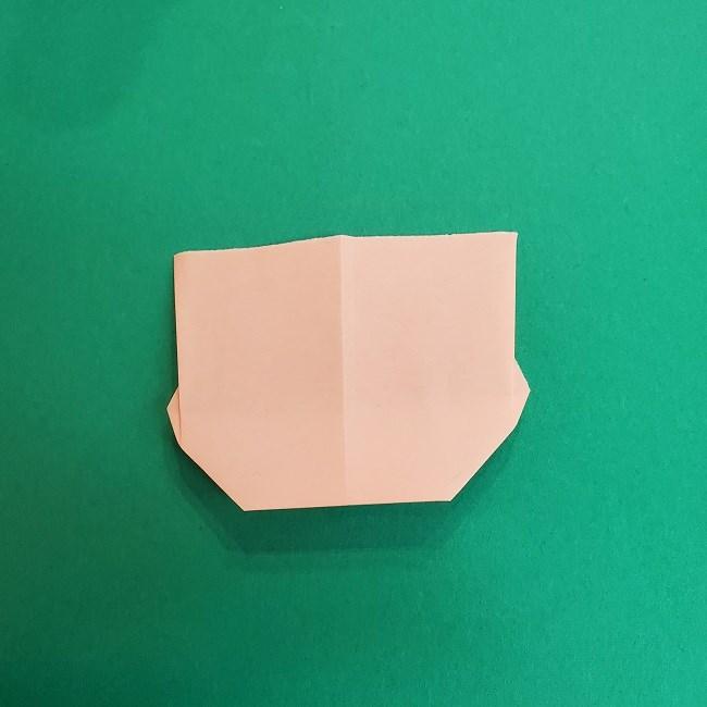 きめつのやいばの折り紙 あおい*折り方作り方 (8)