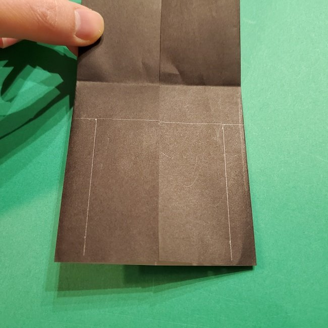 きめつのやいばの折り紙 胡蝶カナエの折り方作り方 (12)
