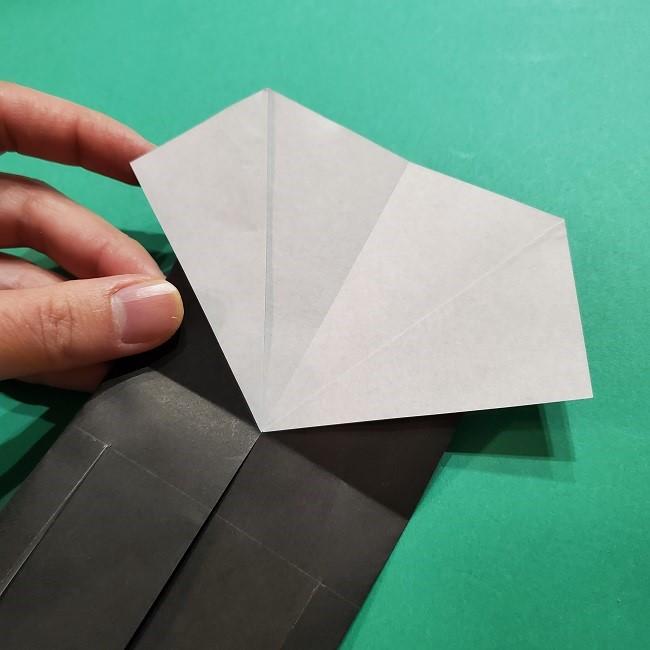 きめつのやいばの折り紙 胡蝶カナエの折り方作り方 (14)
