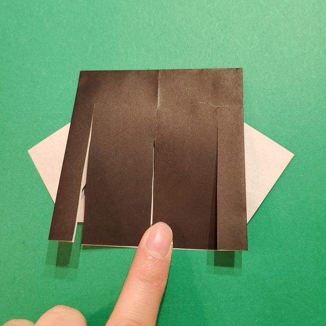 きめつのやいばの折り紙 胡蝶カナエの折り方作り方 (15)