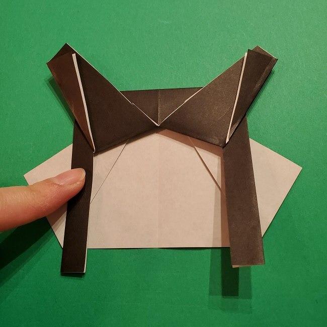 きめつのやいばの折り紙 胡蝶カナエの折り方作り方 (17)