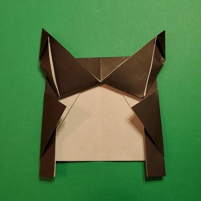 きめつのやいばの折り紙 胡蝶カナエの折り方作り方 (20)
