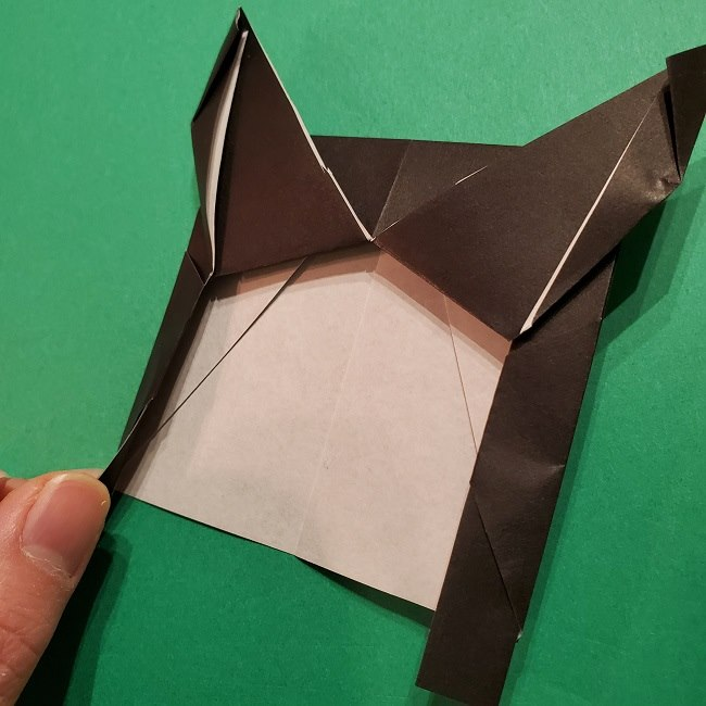 きめつのやいばの折り紙 胡蝶カナエの折り方作り方 (21)