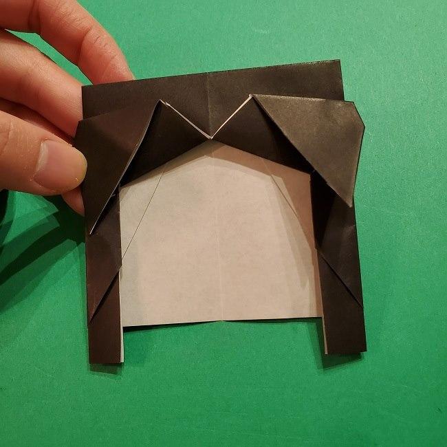 きめつのやいばの折り紙 胡蝶カナエの折り方作り方 (22)