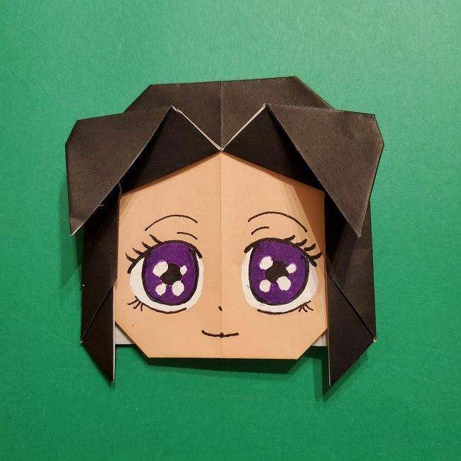 きめつのやいばの折り紙 胡蝶カナエの折り方作り方 (26)