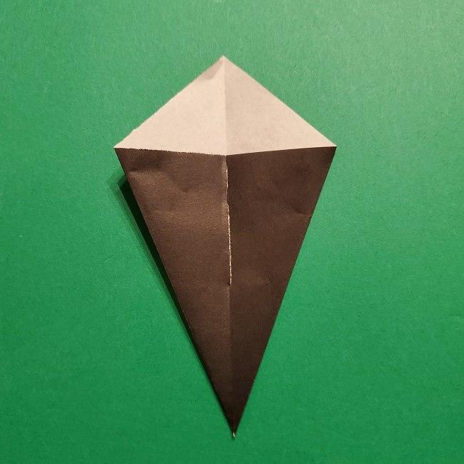 きめつのやいばの折り紙 胡蝶カナエの折り方作り方 (30)