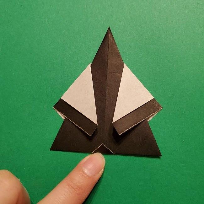 きめつのやいばの折り紙 胡蝶カナエの折り方作り方 (37)