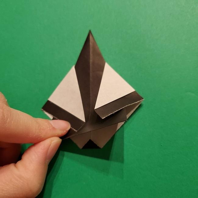 きめつのやいばの折り紙 胡蝶カナエの折り方作り方 (38)