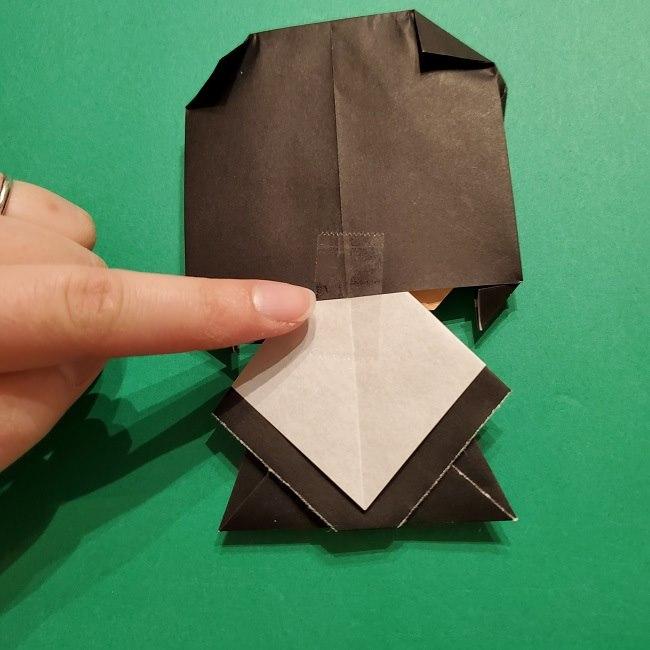 きめつのやいばの折り紙 胡蝶カナエの折り方作り方 (39)