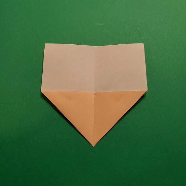 きめつのやいばの折り紙 胡蝶カナエの折り方作り方 (4)