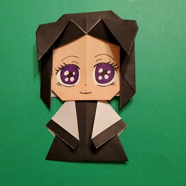 きめつのやいばの折り紙 胡蝶カナエの折り方作り方 (40)