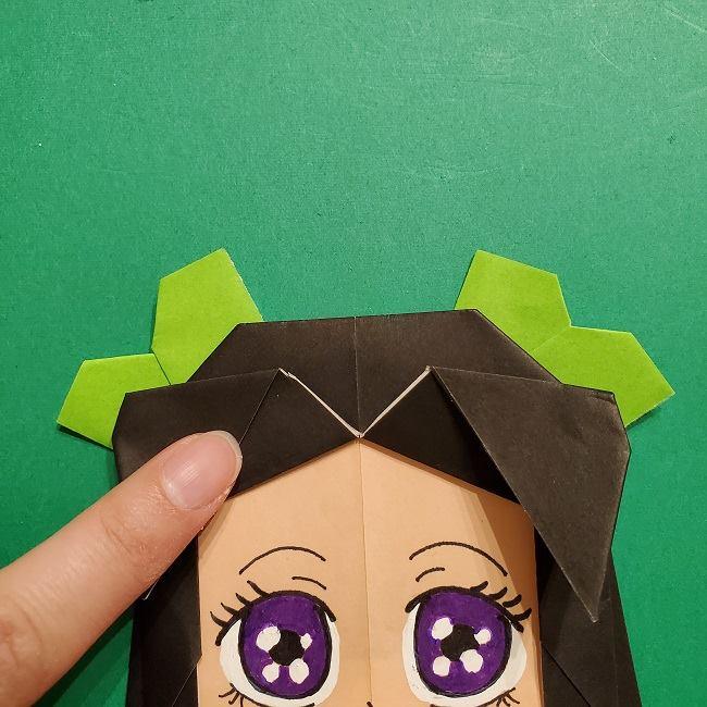 きめつのやいばの折り紙 胡蝶カナエの折り方作り方 (55)